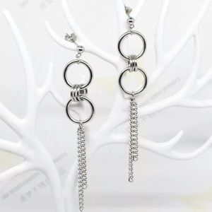 925 Chain Earrings